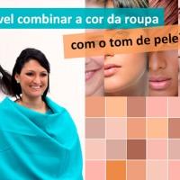 A cor da roupa altera a percepção do tom da pele