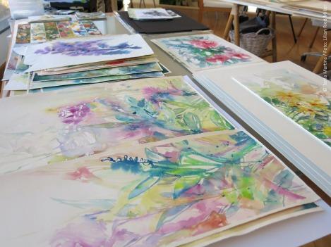 Obras da pintora Tania Martins / Fotos: Lilian Ried Miller 2014