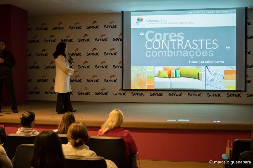 Palestra de abertura do Design Essencial na sede do Senac São Paulo em 13.ago.2016