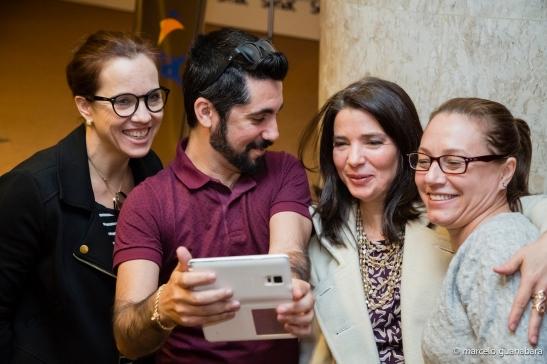 Fotos com os participantes