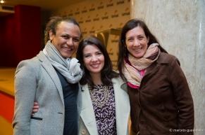 Com Josivan Benegate e Sônia Regina de Souza Barbieri do Senac São Paulo